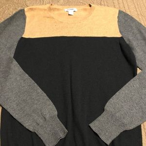 Old Navy Color Block Sweater Sz S